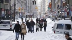 بارش برف در ۴۹ ایالت آمریکا