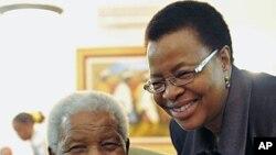 Nelson Mandela oo la Dhigay Cisbitaal