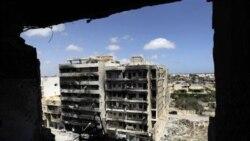 حمله نیروهای قذافی به غرب لیبی