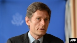 FILE - U.S. Assistant Secretary of State for Democracy, Human Rights and Labor Tom Malinowski.