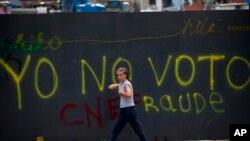Venezuela en cuenta regresiva para la realización de las polémicas elecciones presidenciales en Venezuela.
