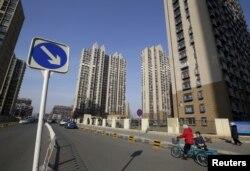 北京通州区的高楼(资料图)