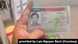Một đường dây giúp ông Lâm Nguyên Bách lấy visa du lịch Mỹ để đi làm chui, tháng 9/2017
