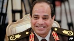 前埃及陸軍參謀長塞西(資料照片)