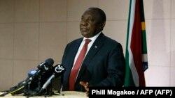 Shugaban Afrika ta kudu Cyril Ramaphosa