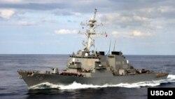 Američki razarač USS John S. McCain, 2003. godina.
