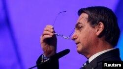 Tổng thống Brazil Jair Bolsonaro là một trong những người chỉ trích chính quyền của ông Maduro mạnh mẽ nhất