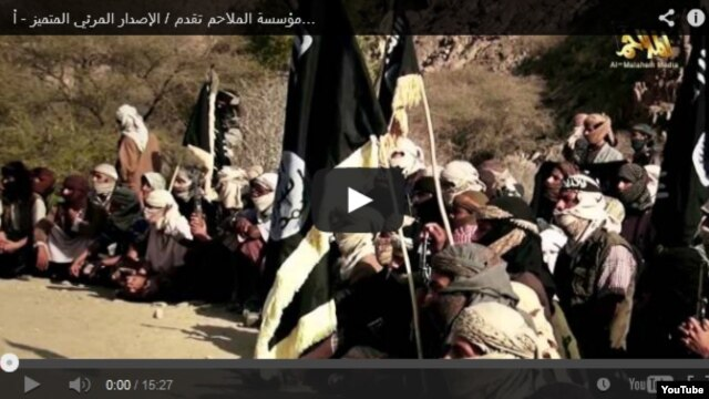 New YouTube video from Islamist militant web site.