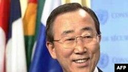 Tổng thư ký Liên Hiệp Quốc Ban Ki-moon hôm thứ Sáu lập lại lời kêu gọi bảo vệ tự do và nhân quyền trên thế giới