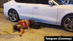 民陣召集人岑子杰遇襲受傷 (照片來源:Telegram)