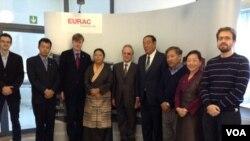 Senior Tibetan Officials Visit South Tyrol (photo:tibet.net)