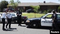 El cuerpo de King fue encontrado en su casa en Rialto, un suburbio de Los Ángeles.