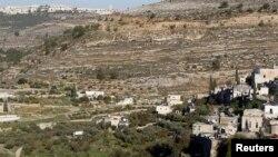 Tanah pertanian berteras di desa tua Battir, sebelah selatan Yerusalem. (Foto: Dok)