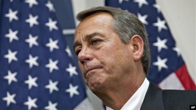 House Speaker John Boehner Dec. 12, 2012