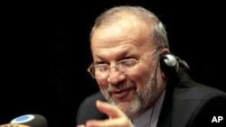 ایرانی وزیر خارجہ منوچہر متقی
