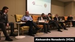 Učesnici konferencije koju je organizovao Atlantski savet o saradnji Vojske Srbije sa oružanim snagama država članica NATO
