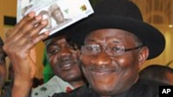 Shugaban kasa Goodluck Jonathan.