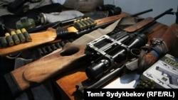 Kyrgyzstan - Kyrgyz police, security, force, army, spetsnaz, militia, crime, gun, generic, undated