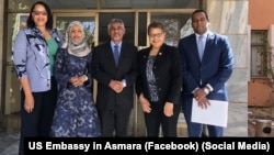 us congress members in Asmara