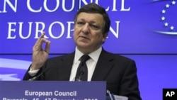 欧盟委员会主席巴罗佐(资料照)