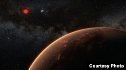 The newly discovered planet orbits Proxima Centauri every 11.2 days. Ricardo Ramirez