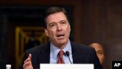 Direktor FBI Džejms Komi svedoči na Kapitol Hilu pred Senatskim odborom za pravosudje