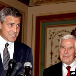 George Clooney talks about Sudan on Capitol Hill