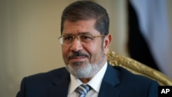 Egyptian President Mohamed Morsi, Oct. 7, 2012.