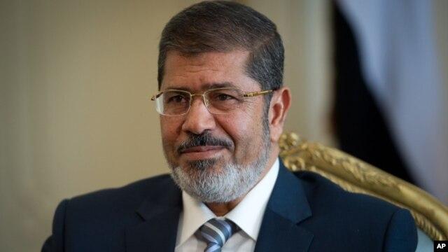 Egyptian President Mohamed Morsi, Oct. 7, 2012.