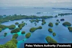 帕劳优美自然风光 (照片来自帕劳自然资源环境及观光部脸书网页)