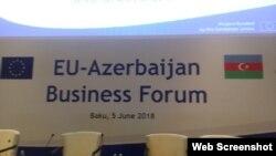 Avropa İttifaqı-Azərbaycan biznes forumu