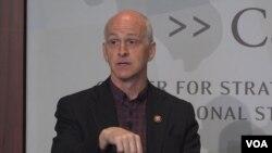 애덤 스미스 미국 하원 군사위원장이 10일 워싱턴 전략국제문제연구소(CSIS)가 주최한 토론회에 참석했다.