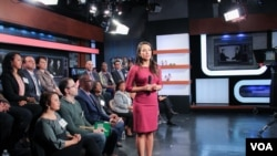 American voters from various diaspora communities share their thoughts on the final presidential debate, with host Angelica Herrera, October 19, 2016.