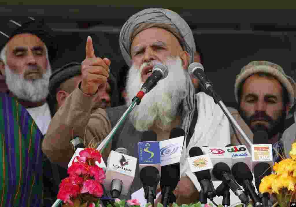 Nomzod Abdul Rasul Sayyaf Qandahorda.
