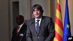 Catalan ေခါင္းေဆာင္ေဟာင္း ဖမ္းဆီးေရး Belgium ႐ံုးခ်ိန္းထပ္ေပး