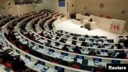 Заседание парламента Грузии, Кутаиси.