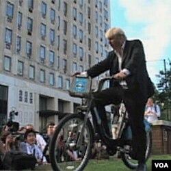 Gradonačelnik Londona Boris Johnson