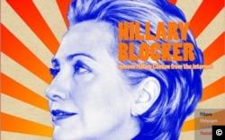 The Hillary Blocker on Facebook.