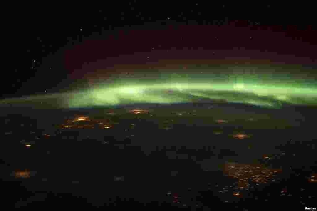 بین الاقوامی خلائی اسٹیشن ناسا سے لی گئی ایک تصویر