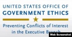 Office of Government Ethics website