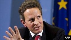 ამერიკის ფინანსთა მინისტრი ევროპელ ლიდერებს ხვდება
