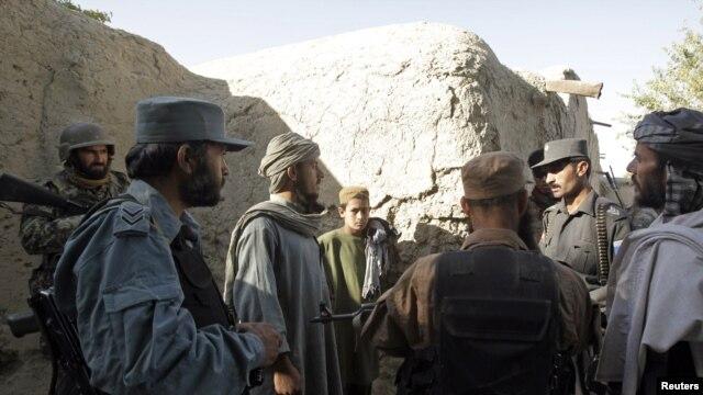 Avganistanski vojnici i policajci u zajedničkoj operaciji sa američkim snagama u Kandaharu (arhivski snimak)