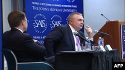 Ilir Meta govori na univerzitetu Džons Hopkins