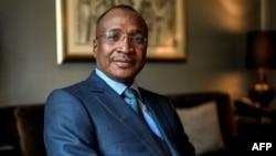 Aliou Boubacar Diallo, candidat à la présidentielle malienne à Paris, 26 avril 2018.