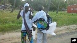 Apoiantes do MDM, durante a campanha eleitoral em Inhambane