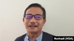 Ferry Mursyidan Baldan dari BPN Prabowo-Sandi. (Foto:VOA/ Nurhadi)