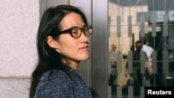 美国社交网站Reddit的临时首席执行官鲍康如(Ellen Pao)