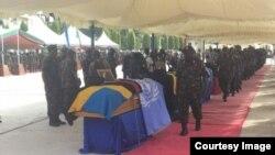 Miili ya wanajeshi 14 waliouawa DRC yaagwa nchini Tanzania.