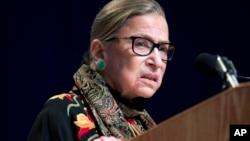 Судья Верховного суда США Рут Бейдер Гинзбург