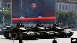 Lễ duyệt binh kỷ niệm 70 năm chiến thắng phát xít Nhật được Trung Quốc tổ chức rầm rộ tại quảng trường Thiên An Môn.